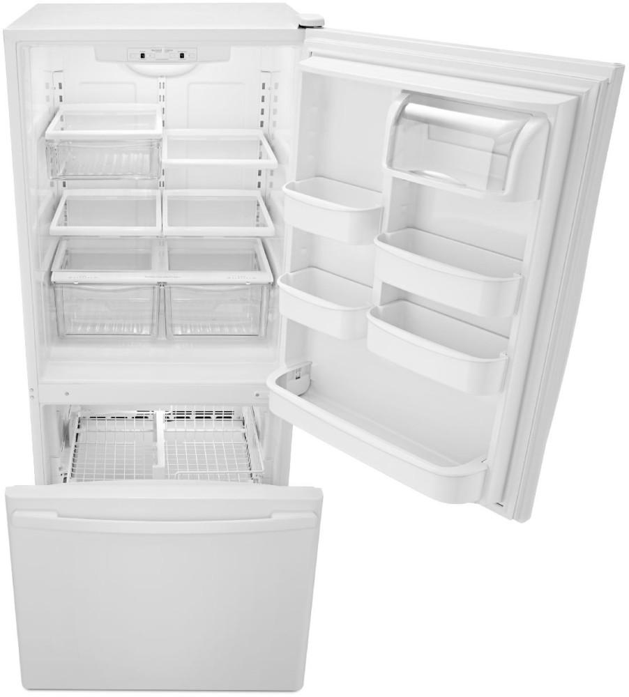 Amana Abb1924brm 18 5 Cu Ft Bottom Freezer Refrigerator