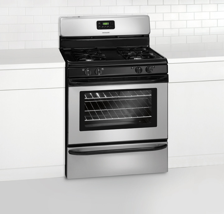 frigidaire self cleaning gas oven manual