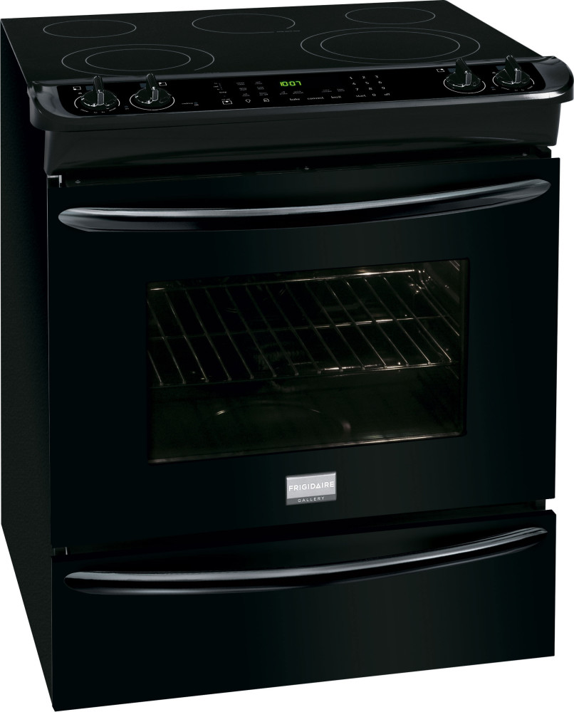 Frigidaire Fges3065pb 30 Inch Slide In Smoothtop Electric