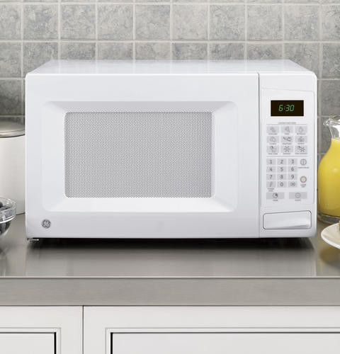 Ge Jes0738dpww 0 7 Cu Ft Countertop Microwave Oven With