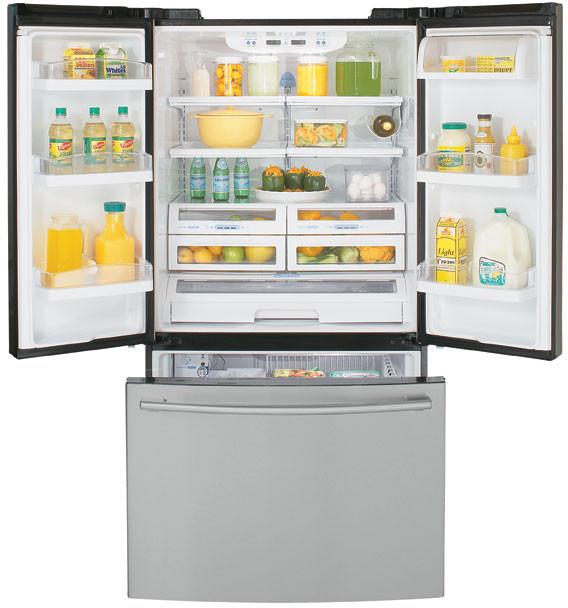 Lg Lfc25760tt 25 Cu Ft French Door Refrigerator With