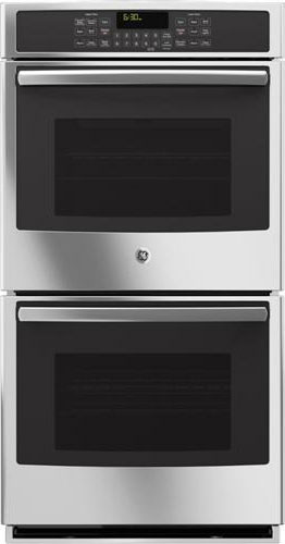 Ge Pk7500sfss 27 Inch Double Electric Wall Oven With 4 3