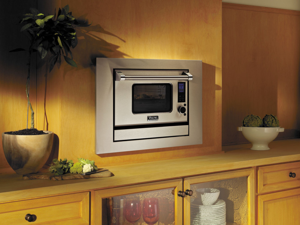 Viking Countertop Convection Oven : Viking VCSO210SS 1.1 cu. ft. Countertop Combi-Steam/Convect Oven with ...