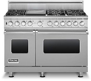 Viking Vdsc5486g 48 Inch Pro Style Dual Fuel Range With 6