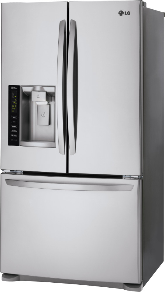Lg Lfx25973st 36 Inch French Door Refrigerator With 24 7
