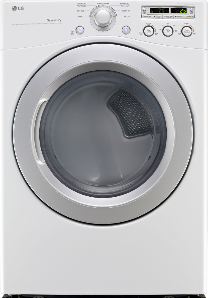 Lg Dle3050w 27 Inch Front Load Electric Dryer With 7 3 Cu
