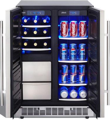 Danby Dpc042d1bsspr 24 Inch Freestanding Beverage Center