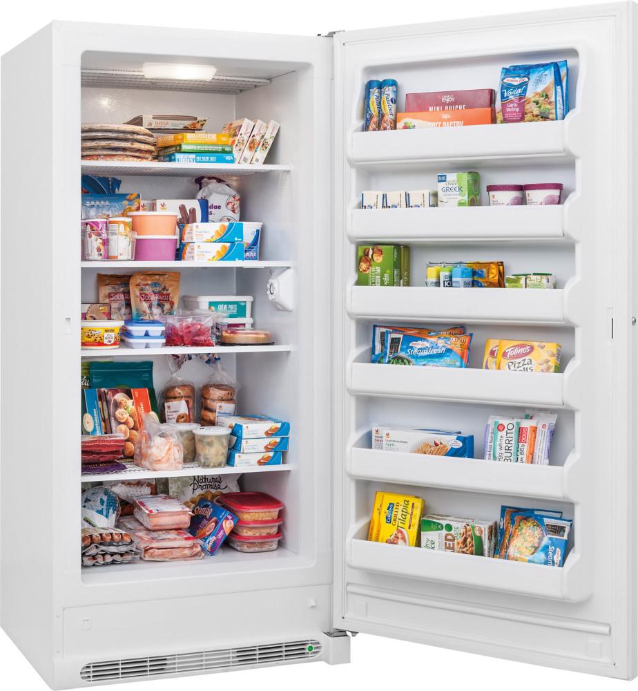 Frigidaire Fffu21m1qw 21 0 Cu Ft Upright Freezer With 4
