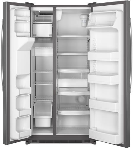 Ge Gse22eshss 34 Inch Side By Side Refrigerator With 21 8