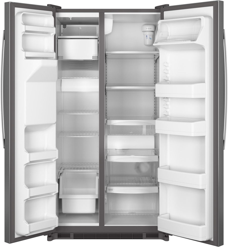 Ge Gse25eshss 36 Inch Side By Side Refrigerator With 24 7