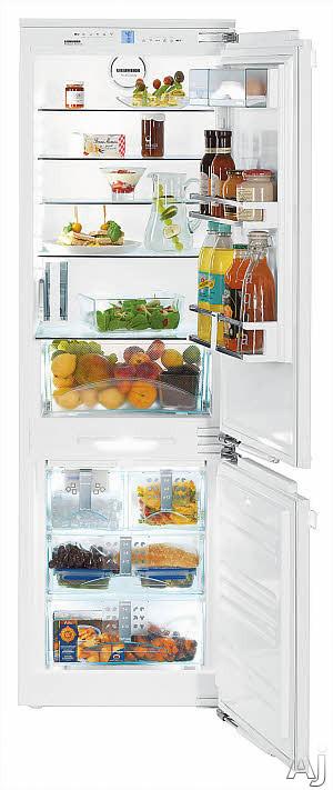 Liebherr Hc1070 22 Inch Fully Integrated Bottom Freezer