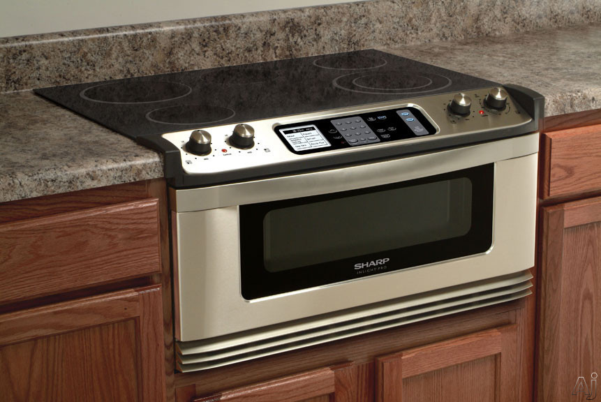 Sharp KB5121KS 30 Inch Electric Cooktop and Microwave ...