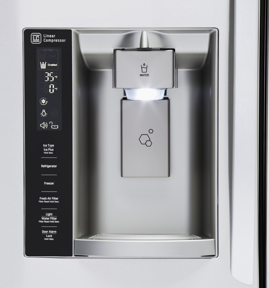 Lg Lfxs27566s 36 Inch French Door Refrigerator With 26 6