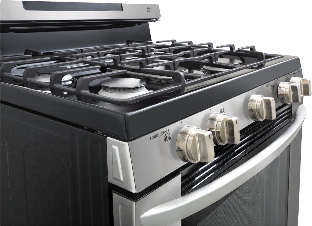 Lg Lrg3061st 30 Inch Gas Range With 5 Sealed Burners 5 4