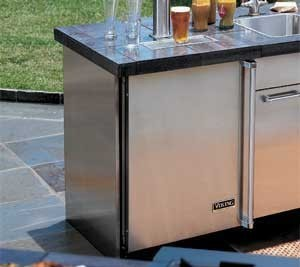 Viking vuro3200ss 32 inch undercounter refrigeration base for Viking outdoor cabinets