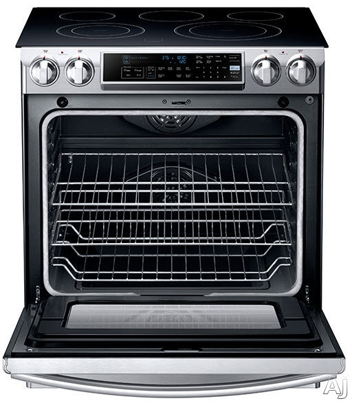 Samsung Ne58f9500ss 30 Inch Slide In Electric Range With 5