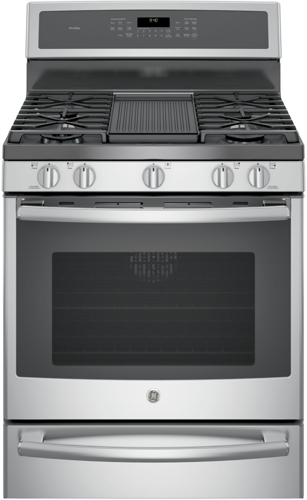 Ge Pgb940sejss 30 Inch Freestanding Gas Range With 5