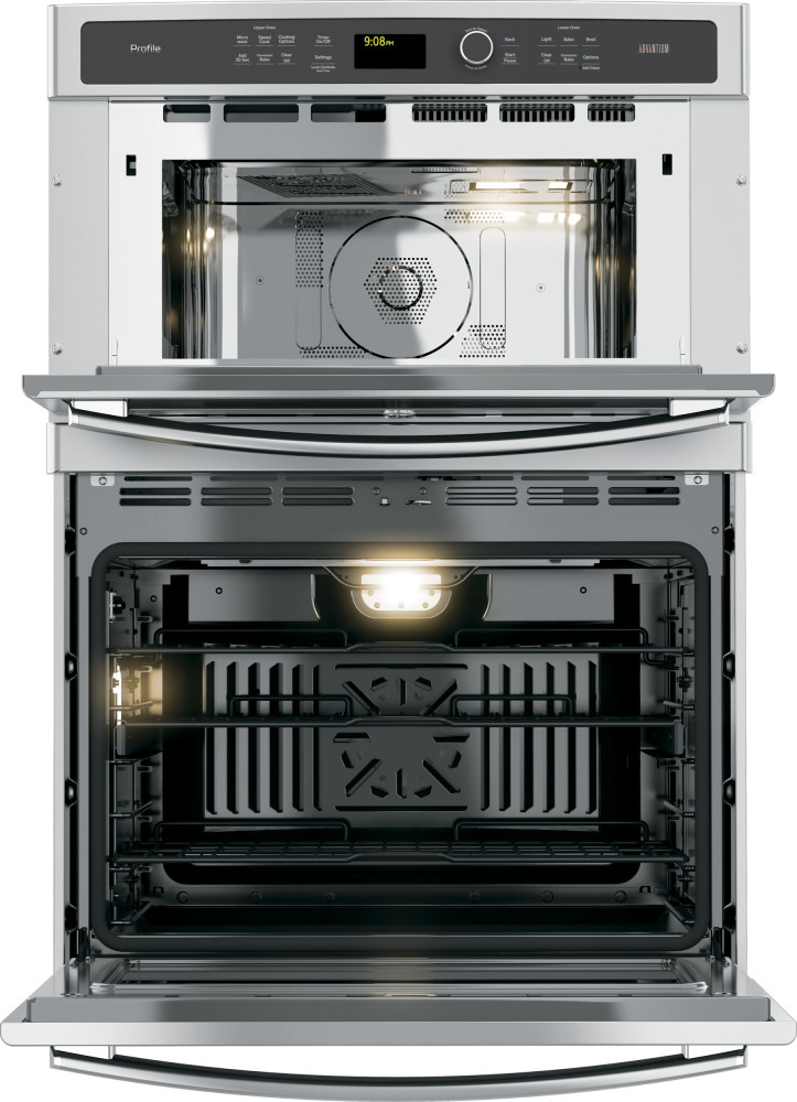 Ge Pt9800shss 30 Inch Built In Combination Wall Oven With