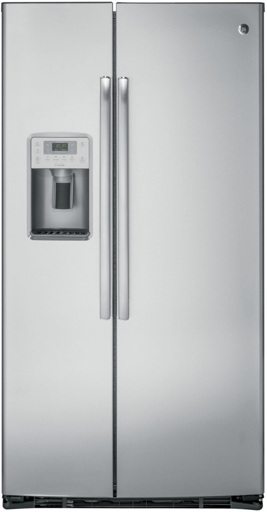 Ge Pzs22mskss 36 Inch Side By Side Refrigerator With 22 1