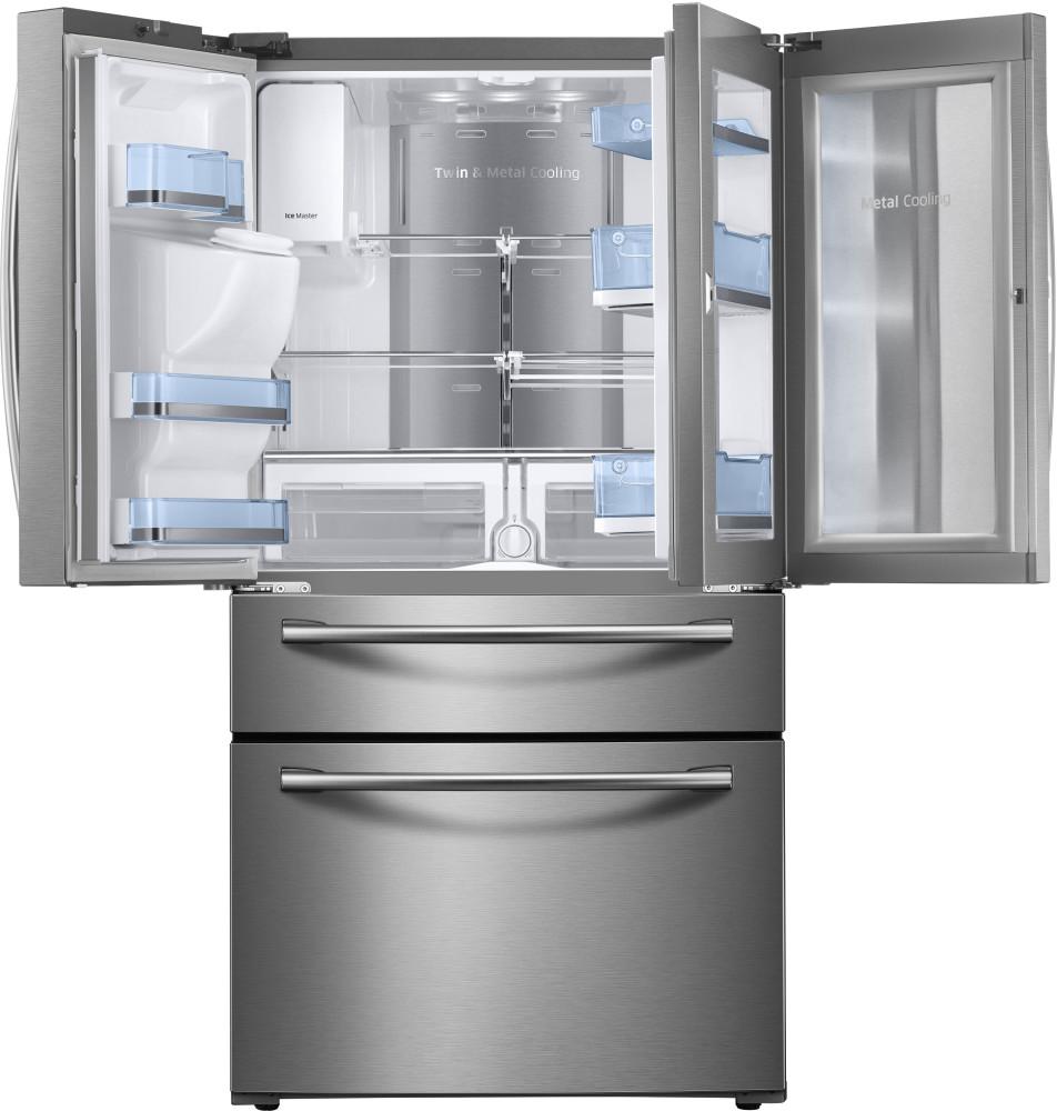 Samsung Rf28jbedbsr 36 Inch French Door Refrigerator With