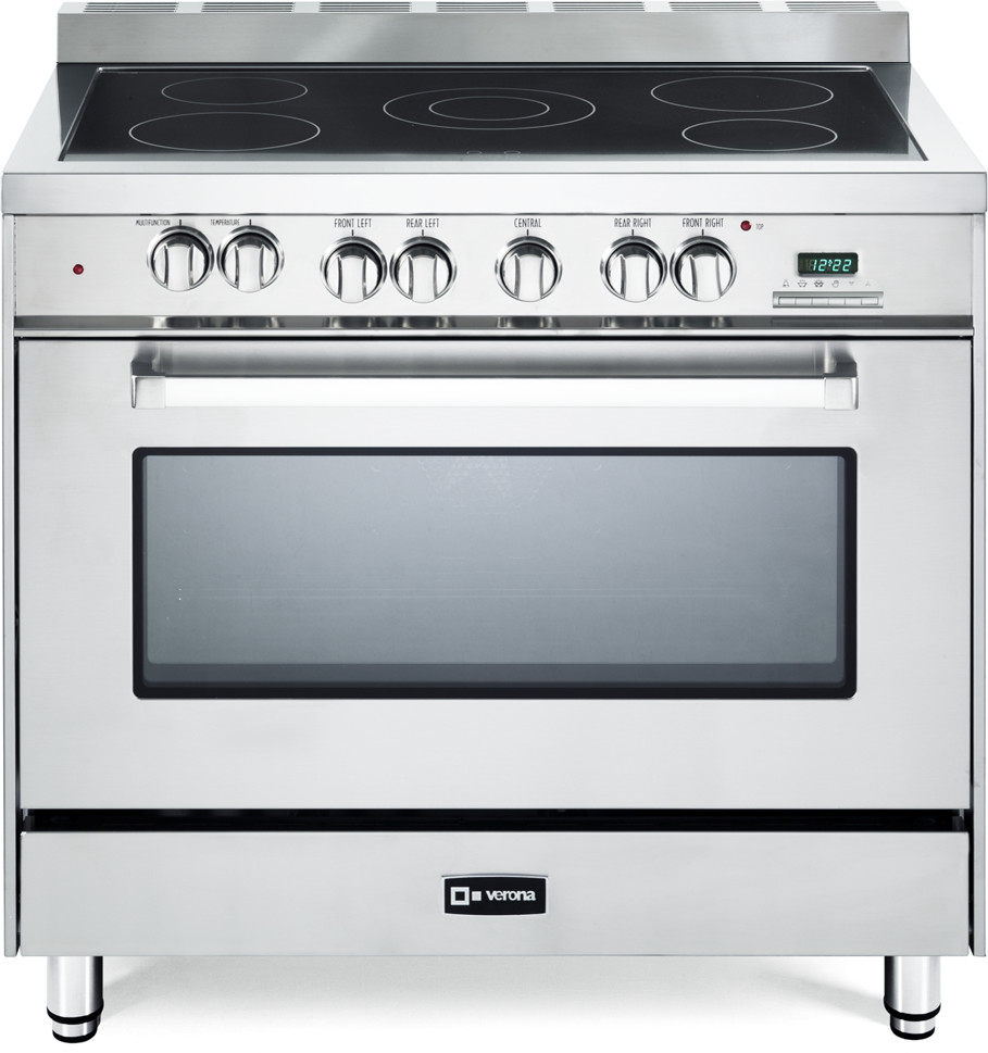 Verona VEFSEE365SS 36 Inch Freestanding Electric Range ...