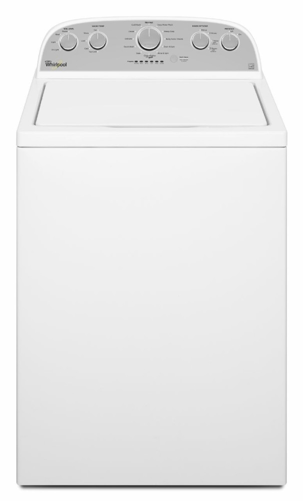 Whirlpool Wtw5000dw 28 Inch 4 3 Cu Ft Top Load Washer