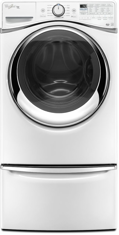 Whirlpool Wfw97hedw 27 Inch 4 5 Cu Ft Front Load Washer