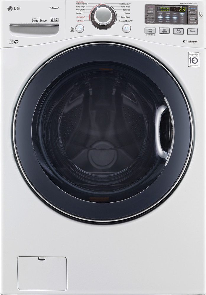 Lg Wm3570hwa 27 Inch 4 3 Cu Ft Front Load Washer With 12