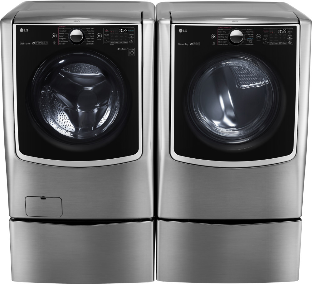 Lg Wm9000hva 29 Inch 5 2 Cu Ft Front Load Washer With 14
