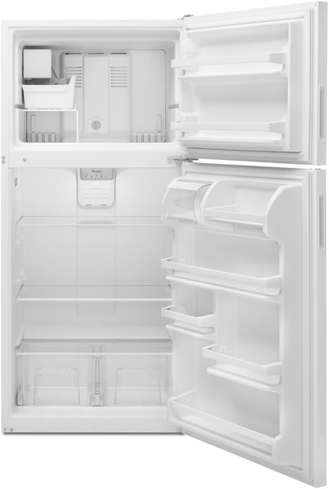 Whirlpool Wrt348fmew 30 Inch Top Freezer Refrigerator With