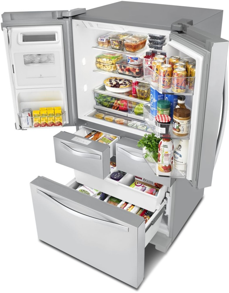 Whirlpool Wrv986fdem 36 Inch French Door Refrigerator With