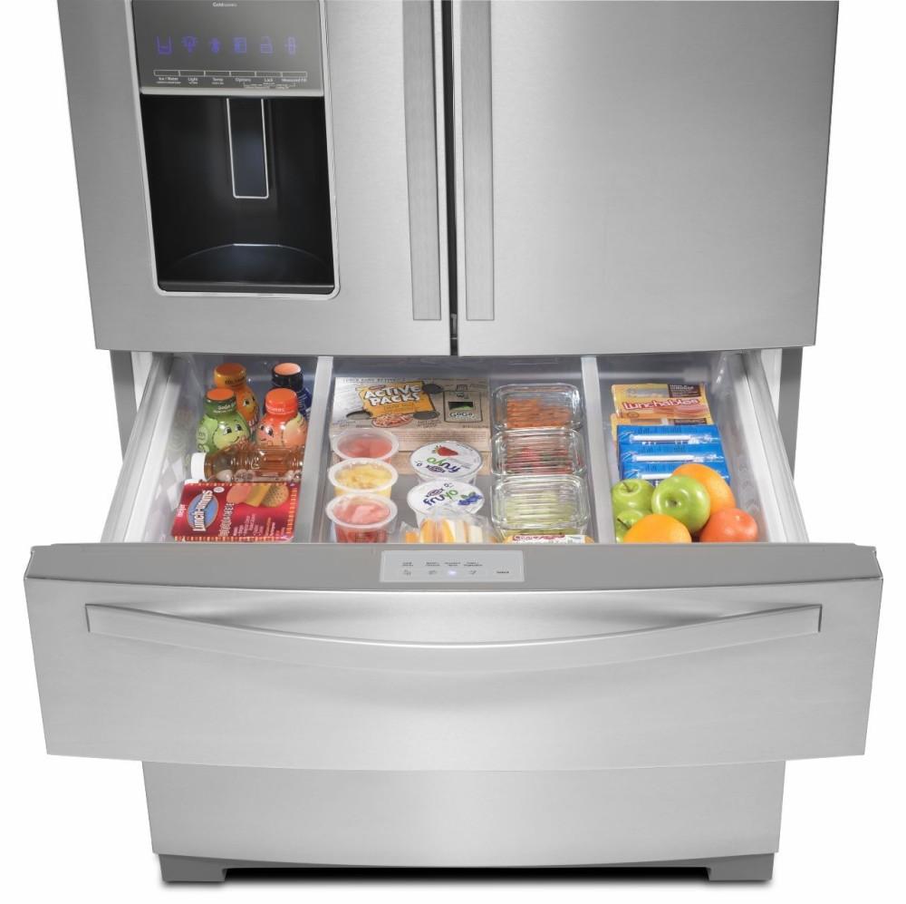 Whirlpool Wrx988sibm 36 Inch French Door Refrigerator With