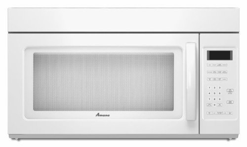 amana amv2175cw 1 7 cu ft over the range microwave oven. Black Bedroom Furniture Sets. Home Design Ideas