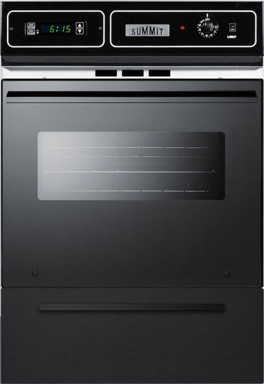 Summit Wtm7212kwss 24 Inch Single Gas Wall Oven With 2 92