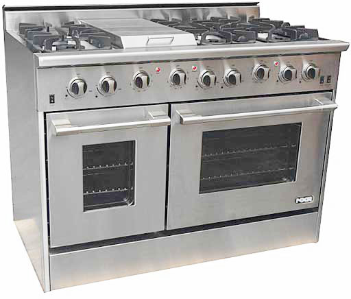 Nxr Drgb4801 48 Inch Pro Style Gas Range With 6 Sealed