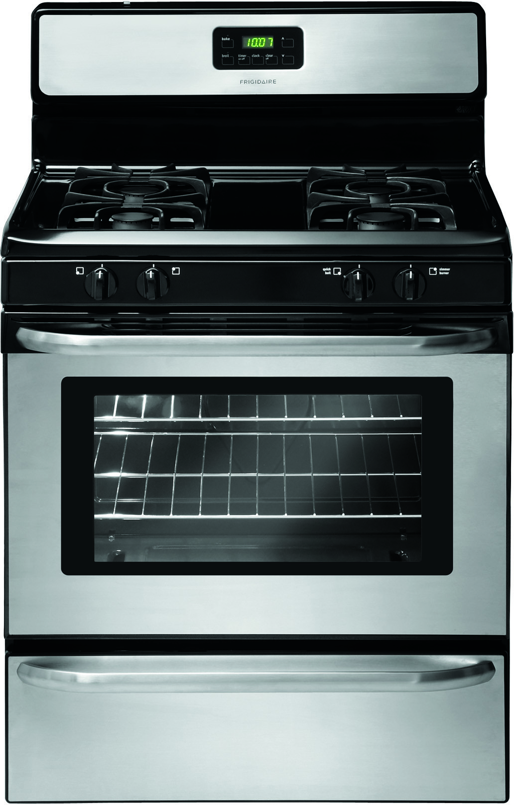Best Over The Range Microwave >> Frigidaire FFGF3047LS 30 Inch Freestanding Gas Range with 4 Sealed Burners, Low-Simmer Burner, 4 ...
