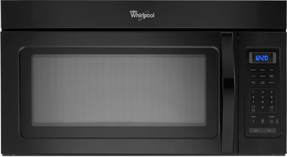 Whirlpool Wmh31017ab 1 7 Cu Ft Over The Range Microwave