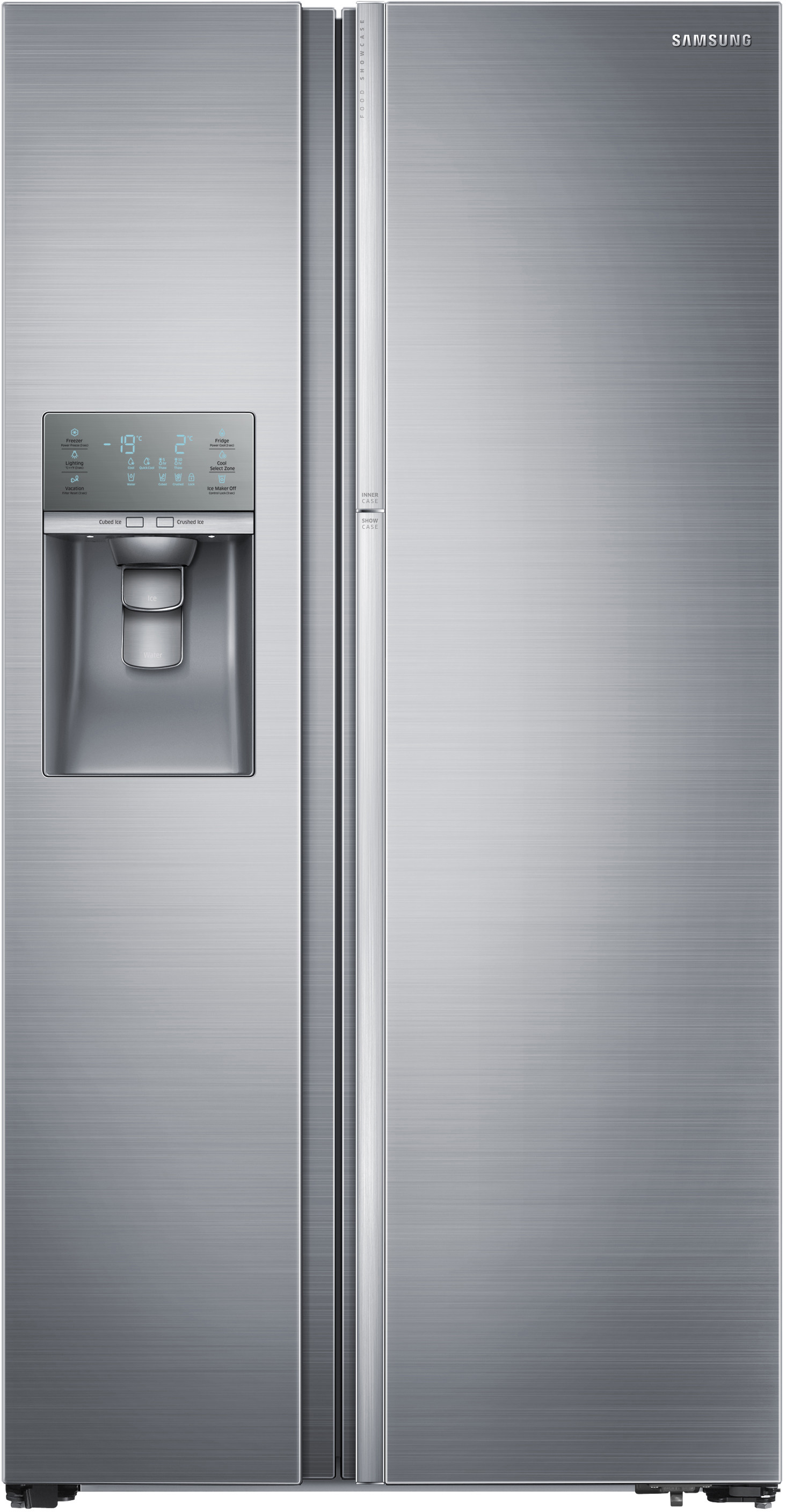 Samsung Countertop Ice Maker : Samsung RH29H9000SR 36 Inch Side by Side Refrigerator with 28.5 cu. ft ...