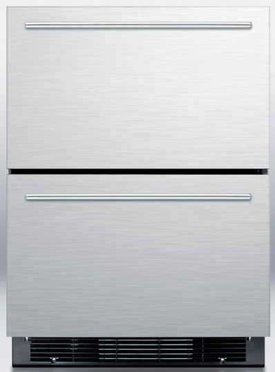 Summit Sprf2d 24 Inch Undercounter 2 Drawer Refrigerator