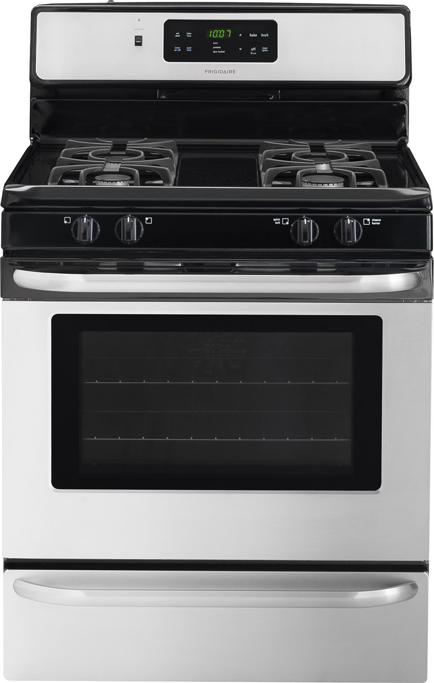 Frigidaire Ffgf3024rs 30 Inch Freestanding Gas Range With