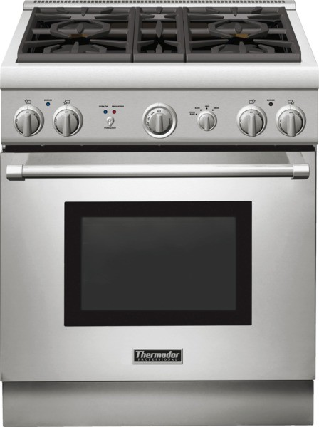 Thermador Prg304gh 30 Inch Pro Style Gas Range With 4