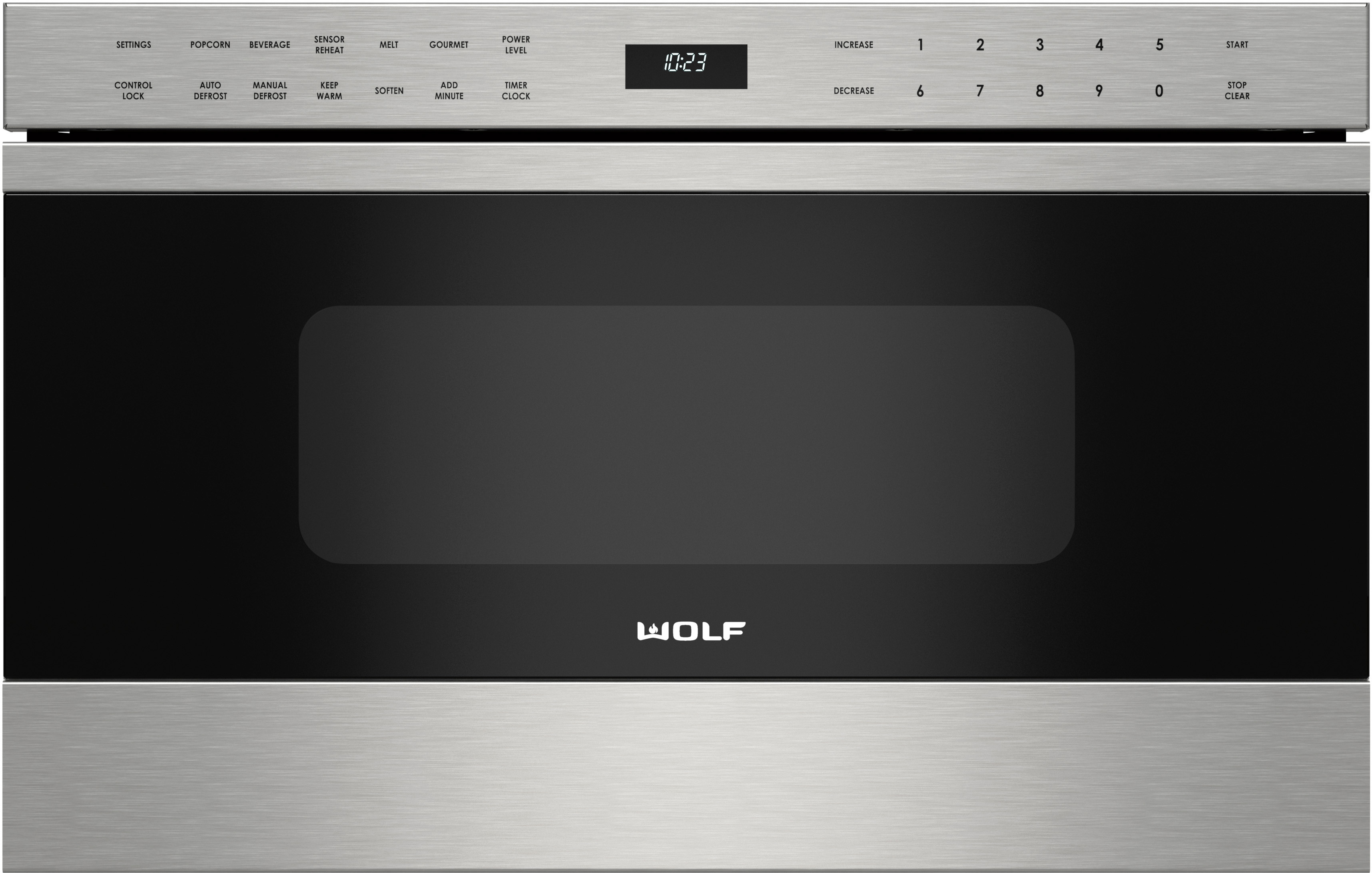 Wolf Md24tes 24 Inch Microwave Drawer With 1 2 Cu Ft