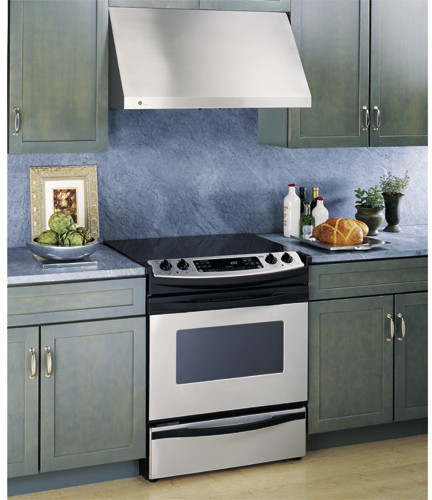 Ge Jv966dss 36 Inch Wall Mount Range Hood With 600 Cfm