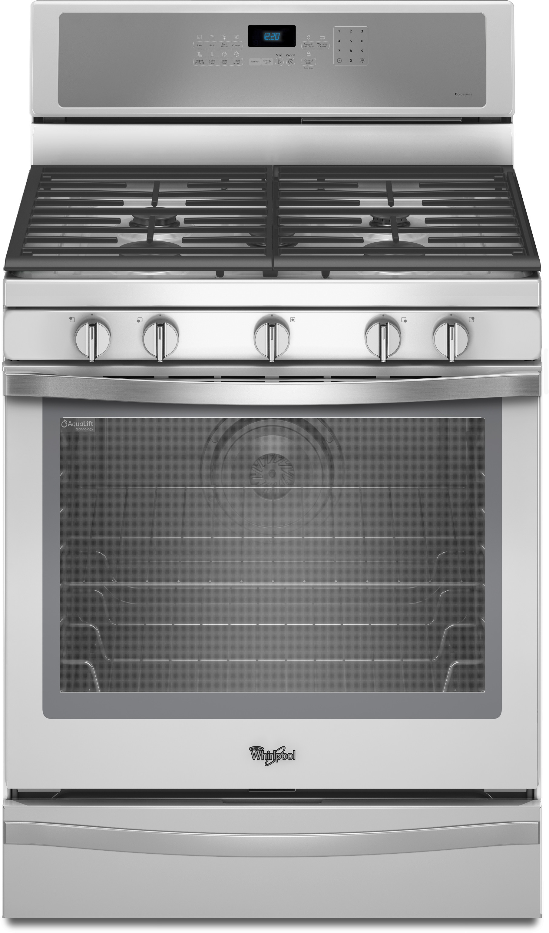 Whirlpool Wfg715h0eh 30 Inch Freestanding Gas Range With 5
